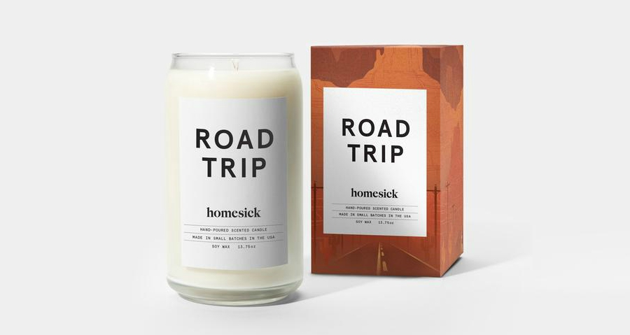 Road Trip scented candle