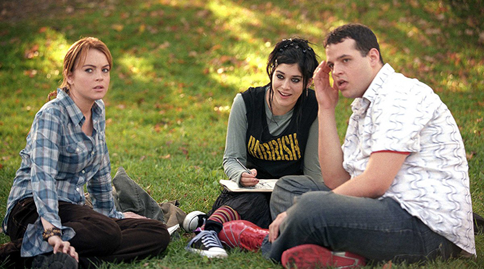 Cady meeting Damian and Janis in Mean Girls
