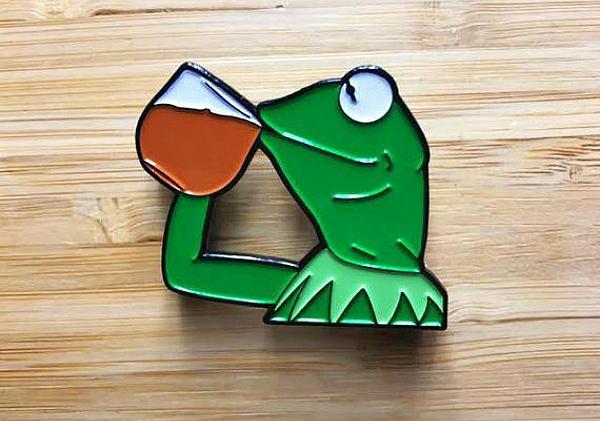 None of my business Kermit meme