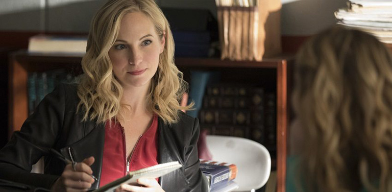Caroline Forbes in The Vampire Diaries