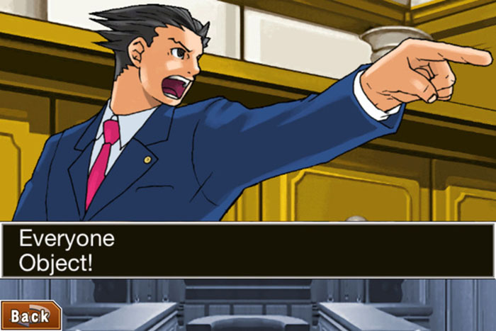 Phoenix Wright: Ace Attorney: Justice For All screenshot