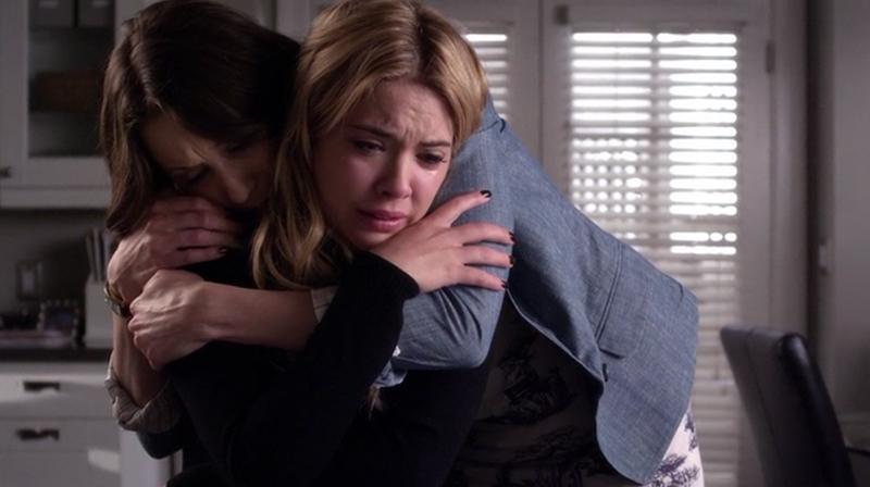 Hanna and Caleb breakup on PLL