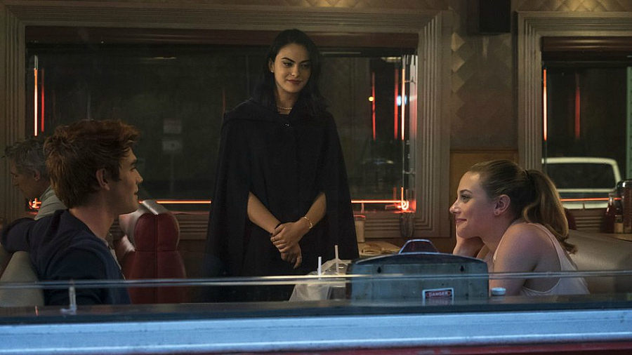 Veronica with Betty and Archie
