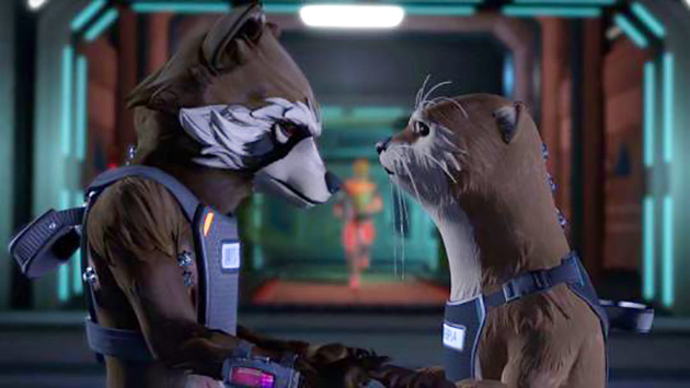 Telltale Guardians of the Galaxy Lylla and Rocket