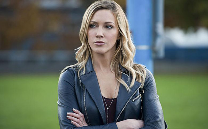 Katie Cassidy as Laurel Lance in The CW's Arrow