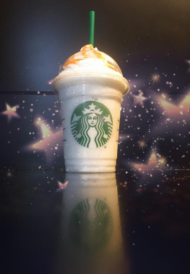 Starbucks butterbeer frappuccino