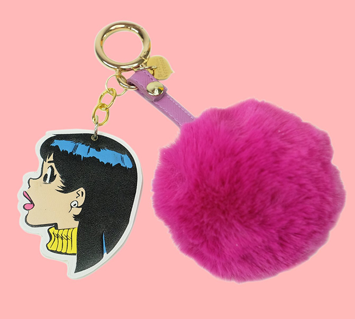 Veronica Lodge keychain from Etsy