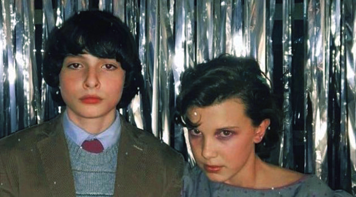 Will and Eleven Snow Ball dance photo