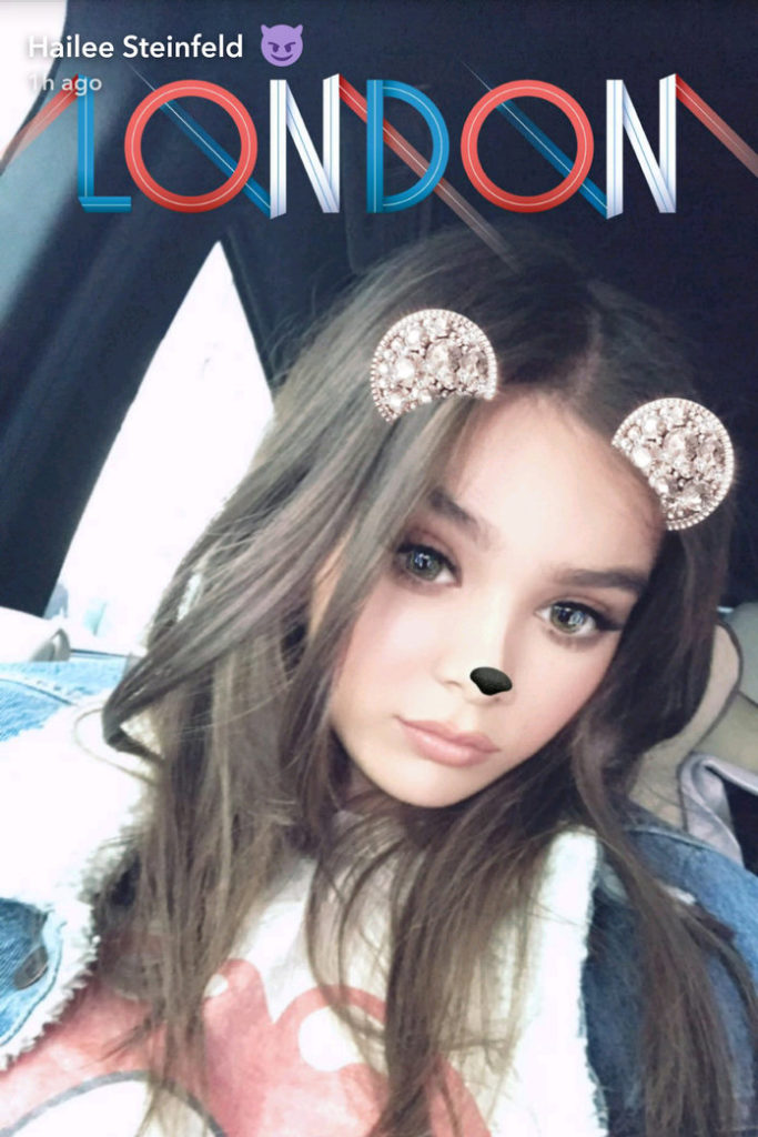 Hailee Steinfeld Snapchat