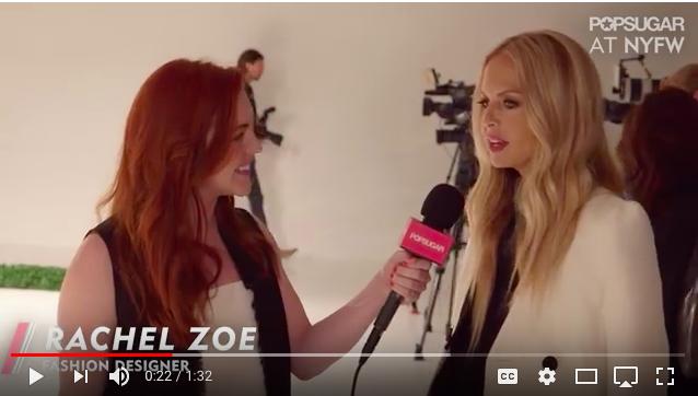 Allison McNamara Rachel Zoe Interview