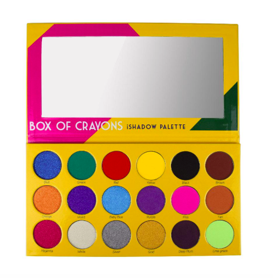 Box of Crayons iShadow Palette