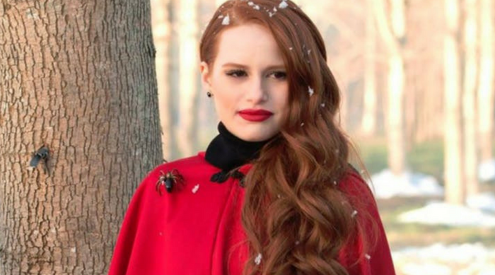 cheryl blossom red coat