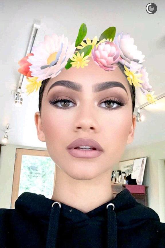 Zendaya Snapchat