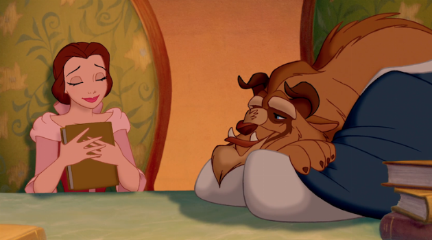 Beauty and the Beast: Belle and the Beast Reading Books