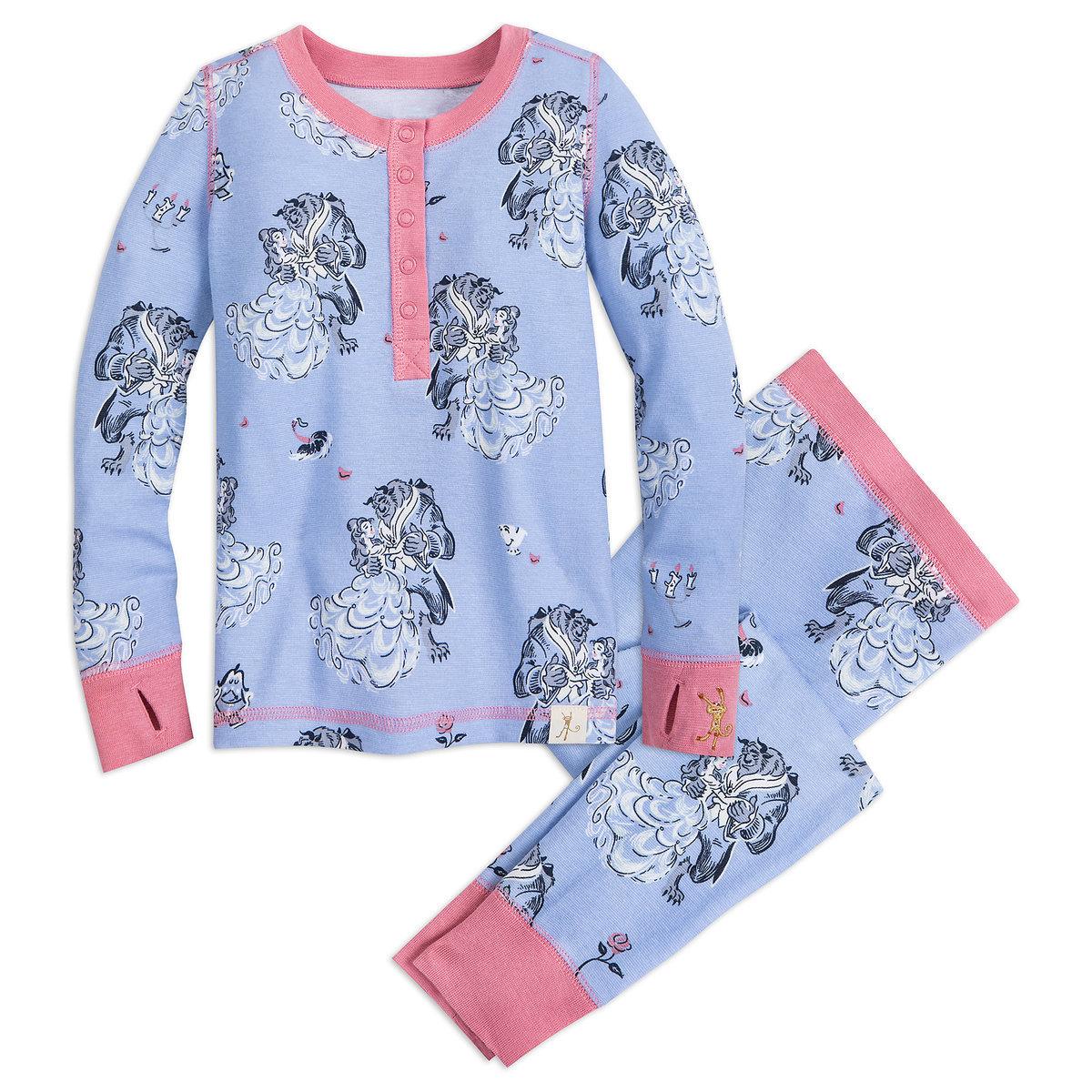 Beauty and the Beast pajamas