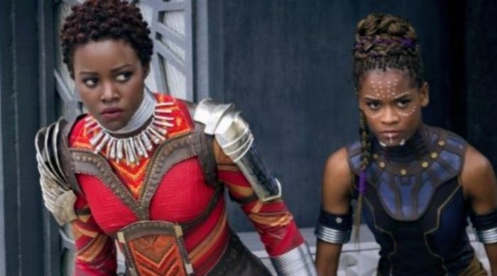 Black Panther: Nakia and Shuri prepare for battle