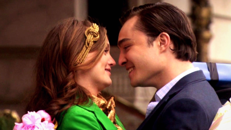 Blair and Chuck Smiling