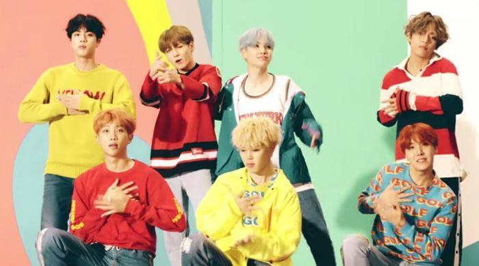 BTS DNA music video