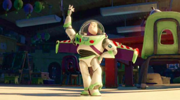 Toy Story 3: Spanish-speaking Buzz loses his memories