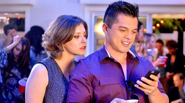 Rebecca Bunch and Josh Chan on Crazy Ex-Girlfriend