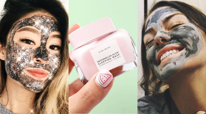 Different types of face masks