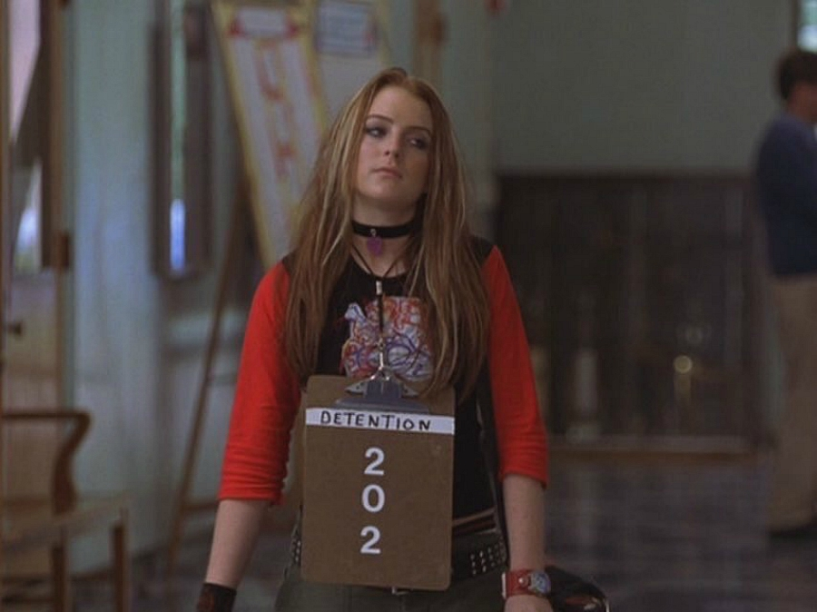 Freaky Friday, Anna gets detention