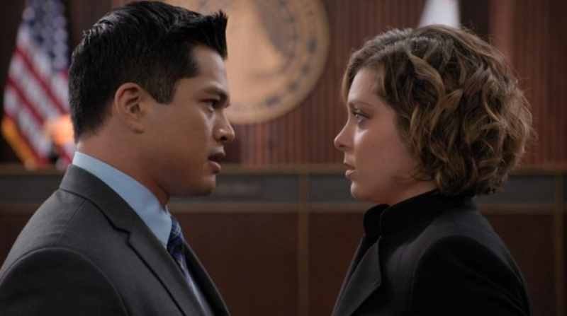 Josh and Rebecca From Crazy Ex-Girlfriend