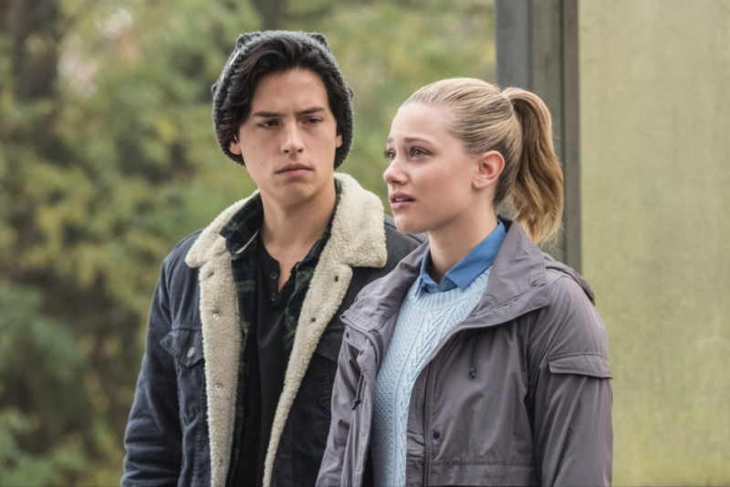 Jughead Staring at Betty Crying