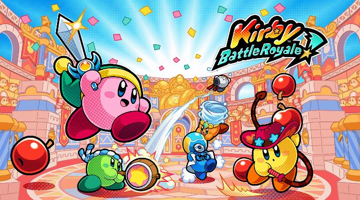 Kirby Battle Royale Art