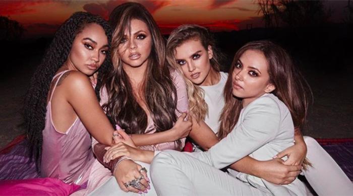 Girl group Little Mix 'Glory Days' promo shoot