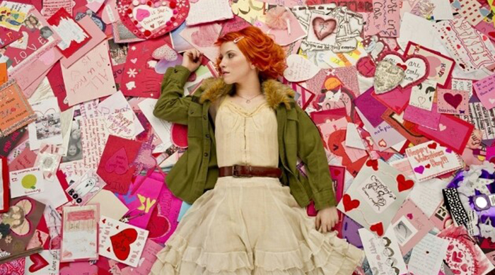 "Hayley Williams in Paramore's ""The Only Exception"" music video"