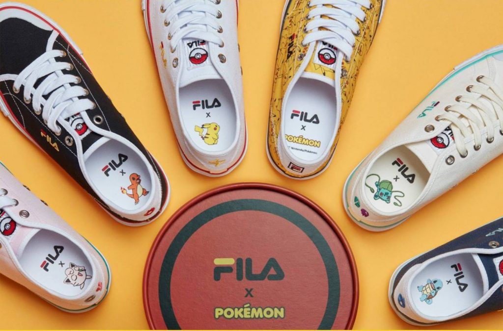 Can You Get FILA Korea's Pokémon Sneakers Online?