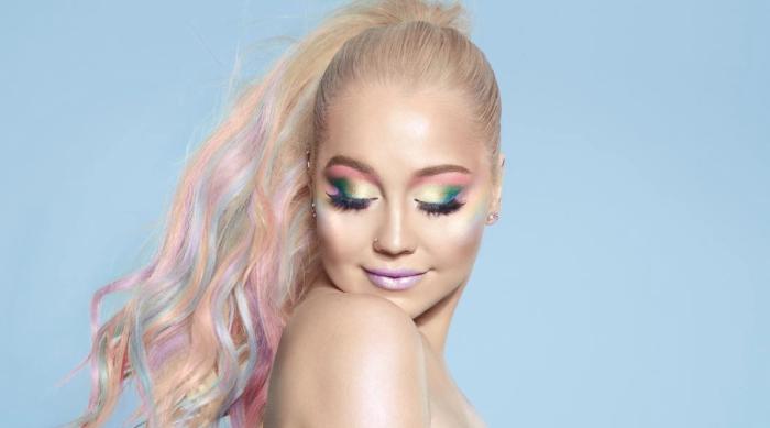 RaeLynn Unicorn Makeup