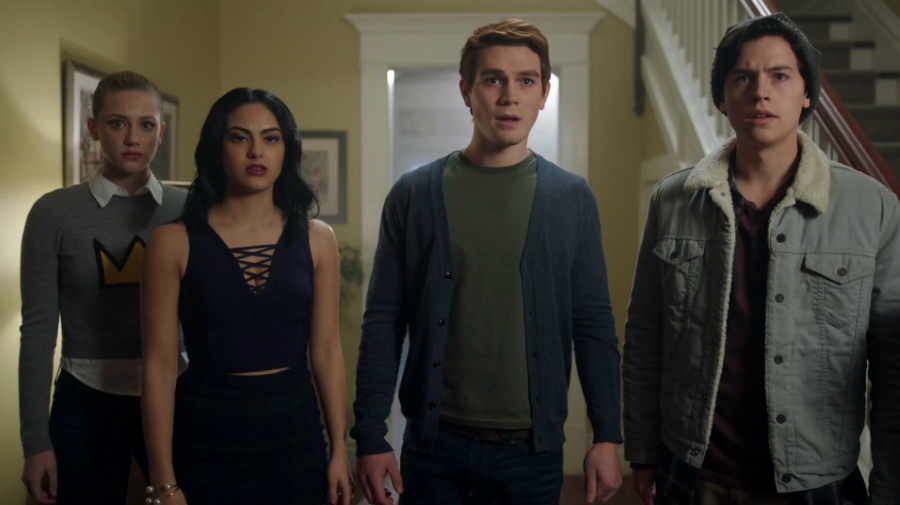 The four friends of Riverdale