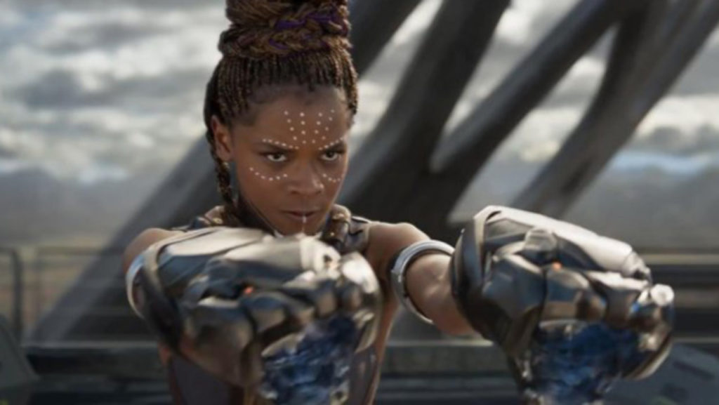 Black Panther: Shuri's arm cannons