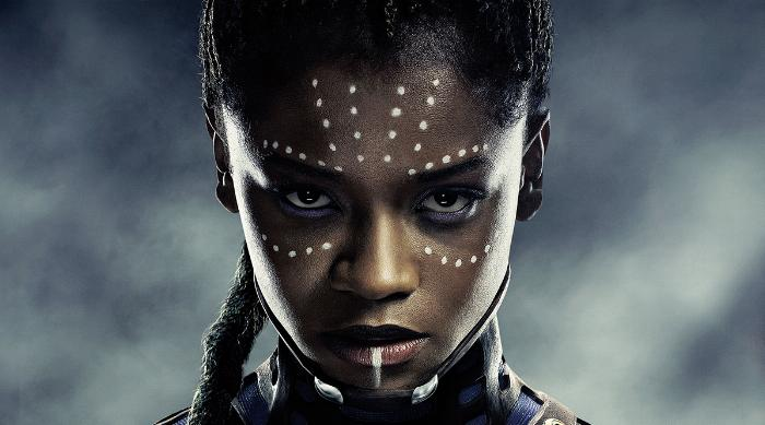 Black Panther: Letitia Wright as Shuri poster