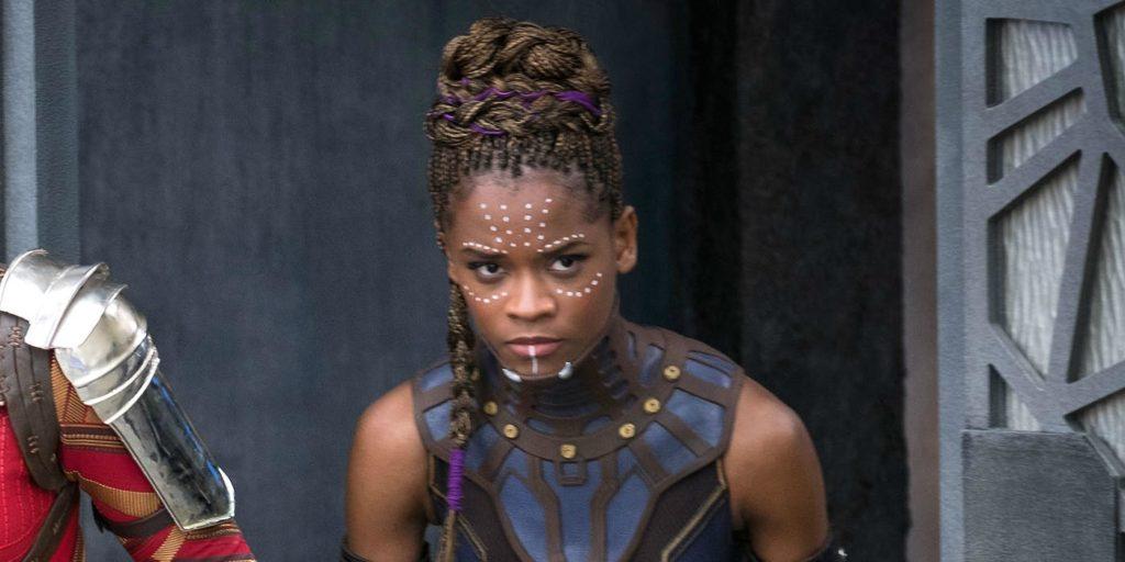 Black Panther: Shuri sneaking around