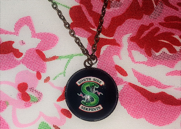 Southside Serpents necklace from Etsy