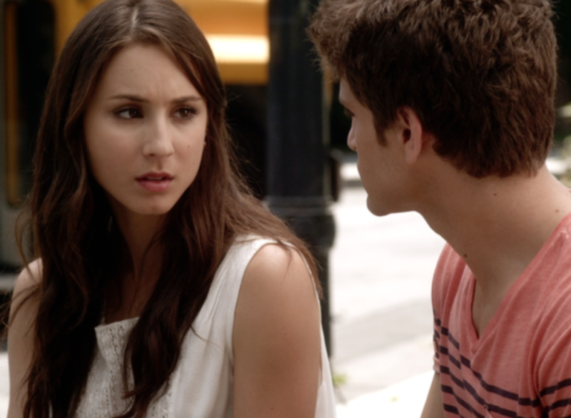 Pretty Little Liars Spencer and Toby Talking