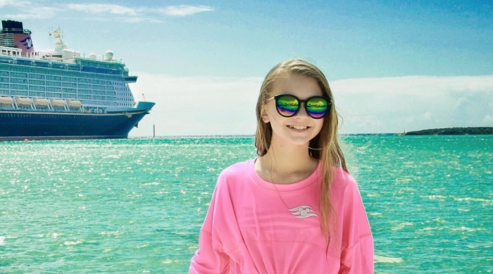 Tegan Marie With Ocean and Disney Dream