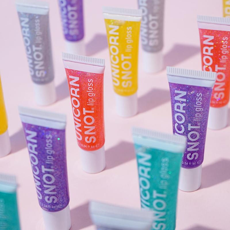 Unicorn Snot glitter lip glosses
