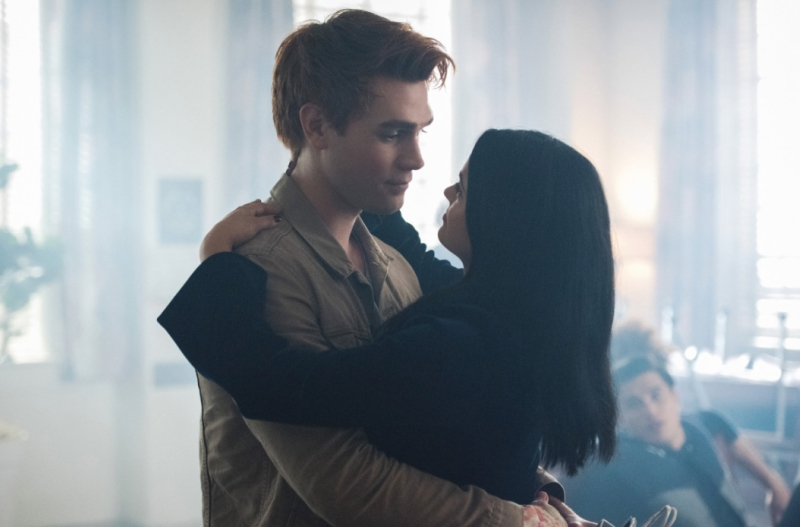 Veronica and Archie Hugging