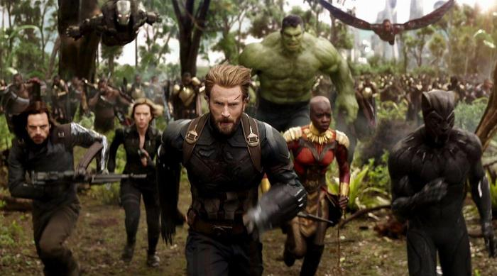Avengers: Age of Ultron Wakanda fight scene