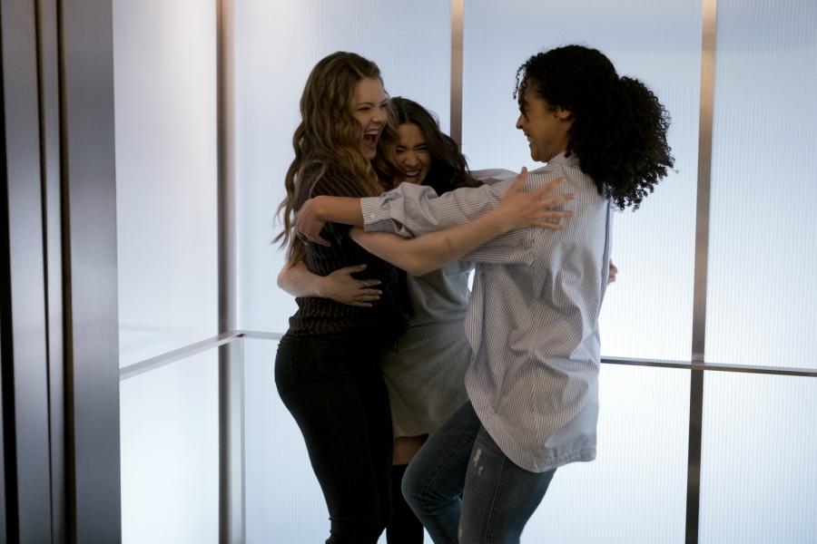 The Bold Type girls hug
