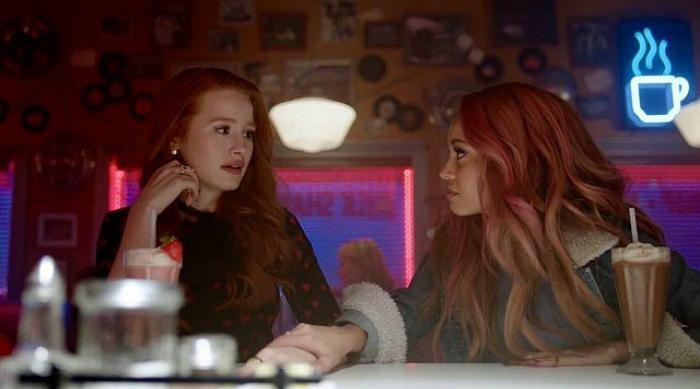 Cheryl and Toni at Pop's