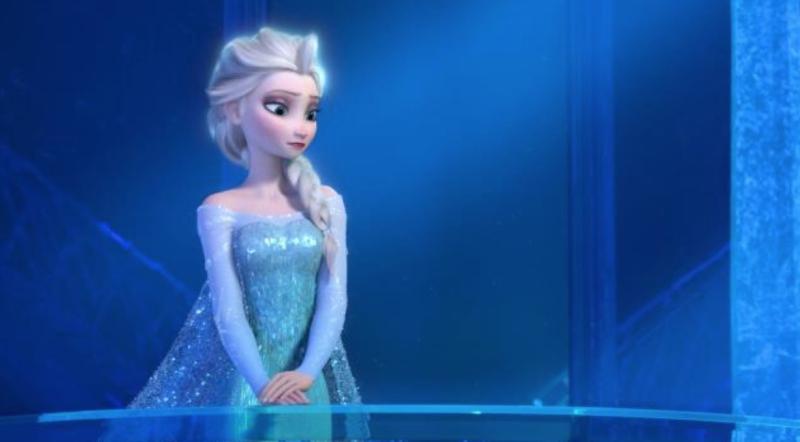 Elsa in Her Castle