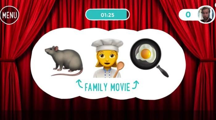 Emoji Charades Ratatouille