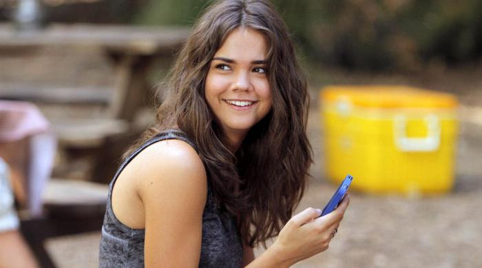 Maia Mitchell in The Fosters