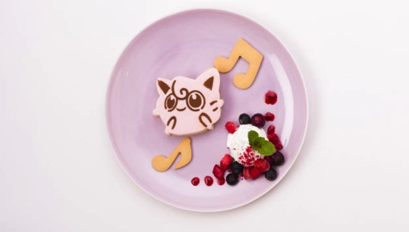 Pokémon Cafe Jigglypuff cheesecake