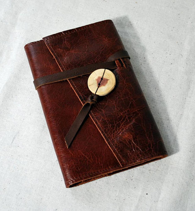 Leather 30 Day Planner